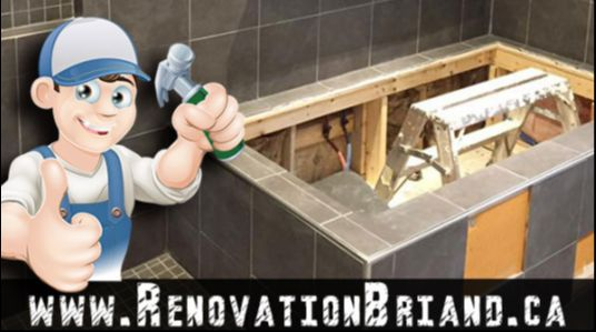 Renovation Lachine Montreal Dorval Châteauguay South Shore Repair Residential Commercial Brick Masonry spandrels renovation Bathrooms Caulking Ceramic Installation Gypsum and Gypsum Concrete Repair